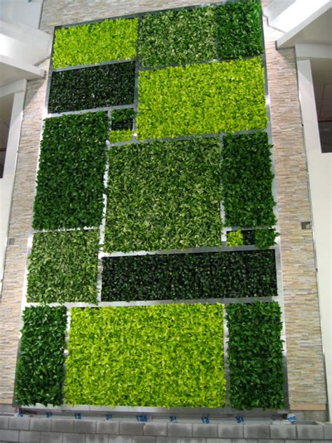 interior garden wall living walls green plant and vertical garden walls