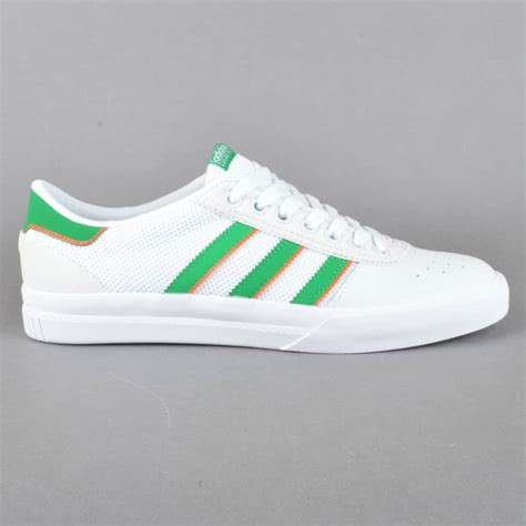 Adidas Skateboarding White adidas skateboarding lucas premiere skate shoes ftwwht green ftwwht skate shoes from