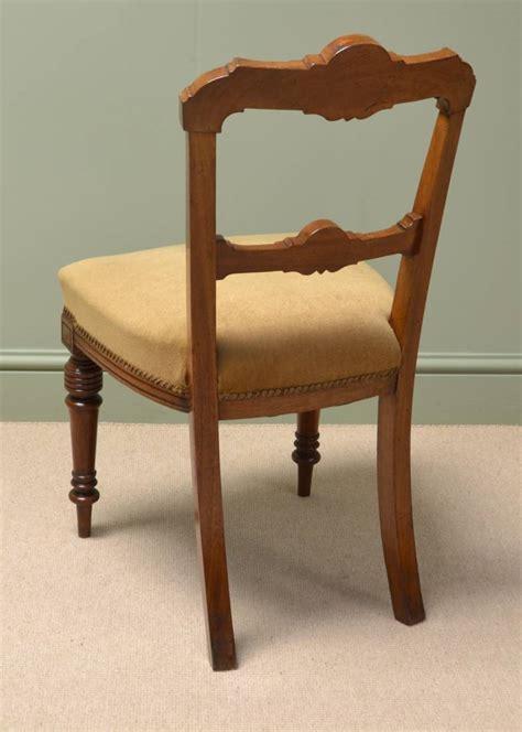 Antique Walnut Dining Chairs Stunning Set Of Six Walnut Antique Dining Chairs Antiques World