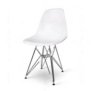 Chaise Lounge Bed Eames Style Dining Dsr Eiffel Chair White