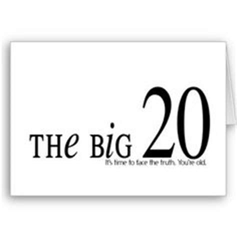 20th Birthday Card Ideas