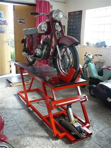 Motorrad Hebeb Hne Cad by Table Lift For Home Garage Cheap Motorcycle