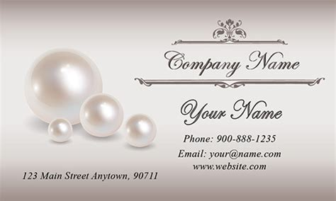 jewelry business cards ideas black jewelry business card design 1901021