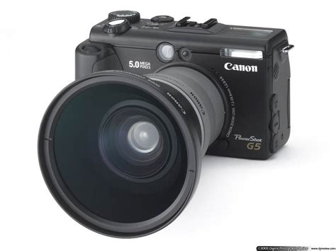 canon g5 canon powershot g5 digital photography review