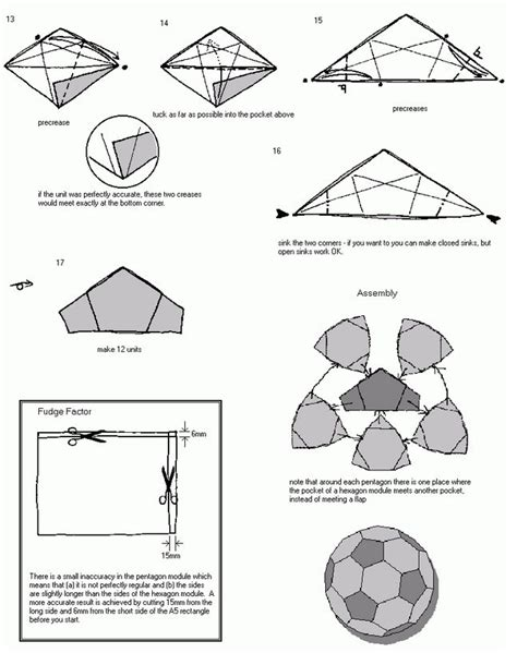 How To Make A Paper Soccer Easy - how to make a origami easy tutorial origami handmade