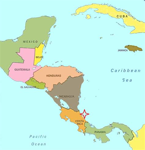 american countries map partnerships needed in costa rica the