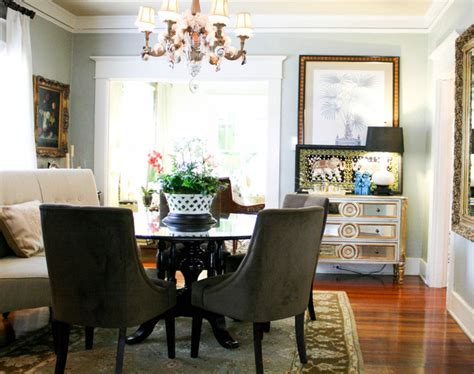 houzz mcgeachy residence transitional dining room