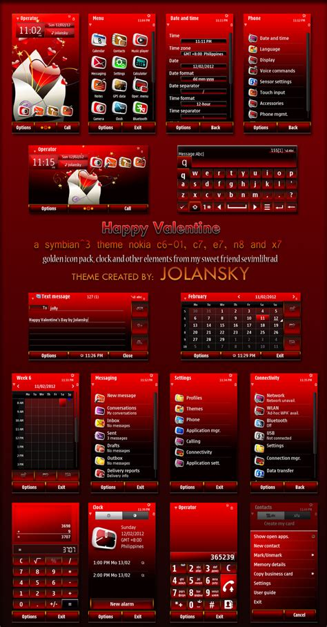themes to nokia n8 my mobile my style happy valentin