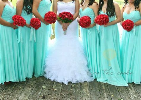 Tiffany Blue/ Mint Wedding decor/dress/tiara  ? Python