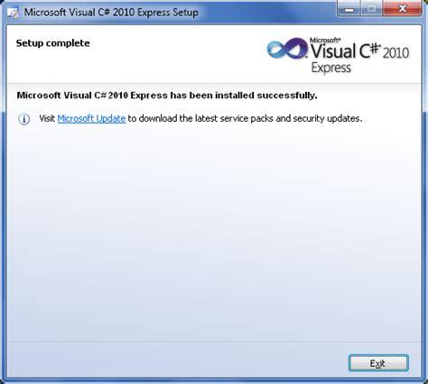 cara membuat jam digital dengan visual studio eka comp cara install visual studio 2010 express