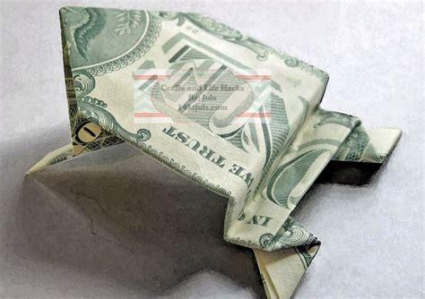 Origami Frog Dollar Bill - the 25 best money origami tutorial ideas on