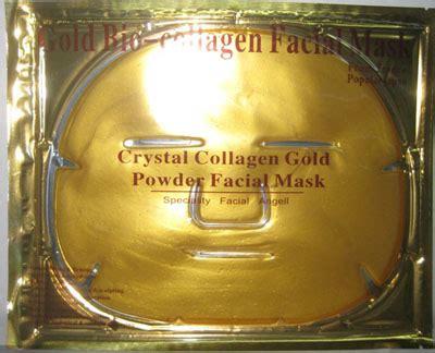 Masker Gold Collagen collagen mask gold