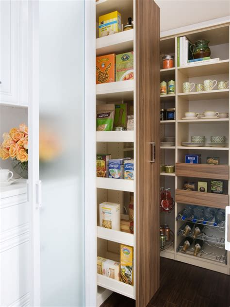 pull out pantry cabinets kitchen