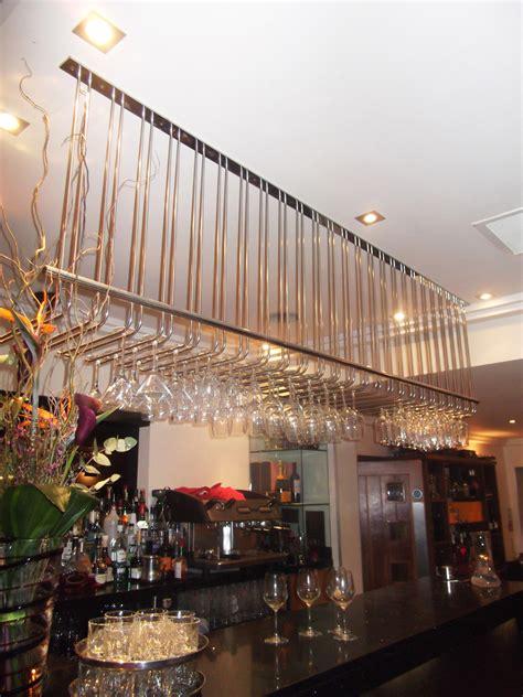 overbar glass racks bar fittings