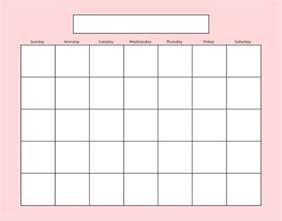 Fill In Calendar Template by Free Fill In Blank Calendar Printables Search Results