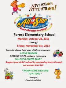scholastic book fair flyer template forest elementary forest elementary book fair