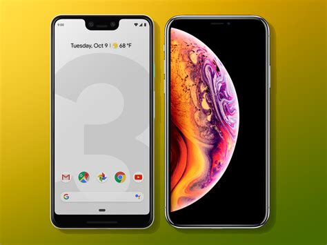 pixel 3 xl vs apple iphone xs max which is best stuff