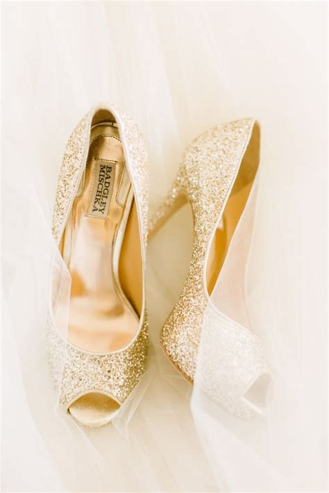 gold sparkle shoes 32 sweet blush and gold wedding suggestions decor advisor