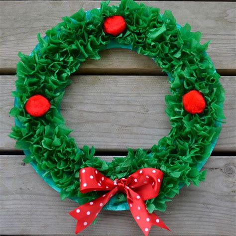 paper wreath craft easy craft for paper plate wreath paper
