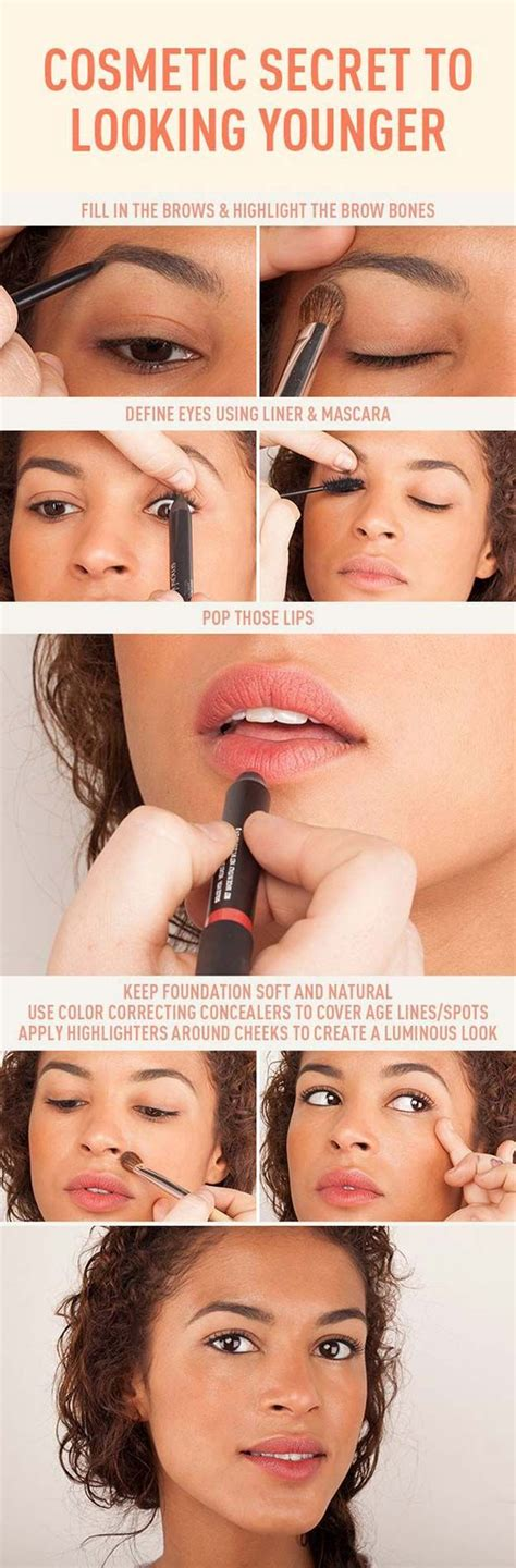 7 Tips On Looking Younger by Hacks 33 Makeup Tips And Tricks To Make You Look