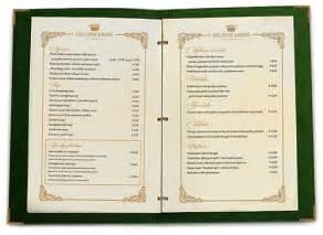 dining restaurant menu design