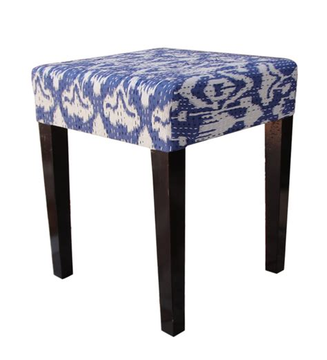Sitting Stools by Sitting Stool With Upholstery In Espresso Walnut By Wood