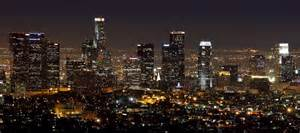 los angeles skyline at home sweet home took a