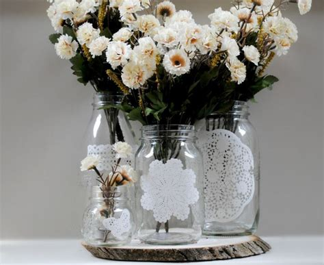 Help Me Save My Mason Jars The Knot Jars Wedding Centerpieces