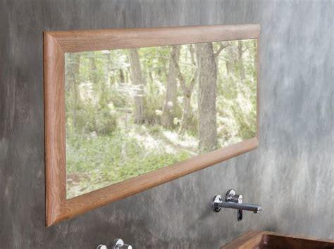 specchi per bagno con cornice specchio rettangolare a parete con cornice specchio