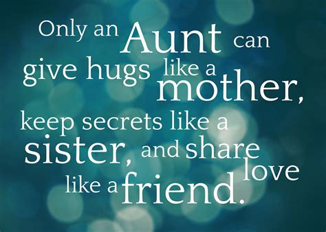 Quotes About Aunts Birthday Quotes And Sayings About Aunts Quotesgram