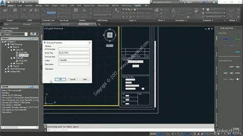 tutorial autocad p id 2013 lynda autocad p id essential training tutorial series a2z