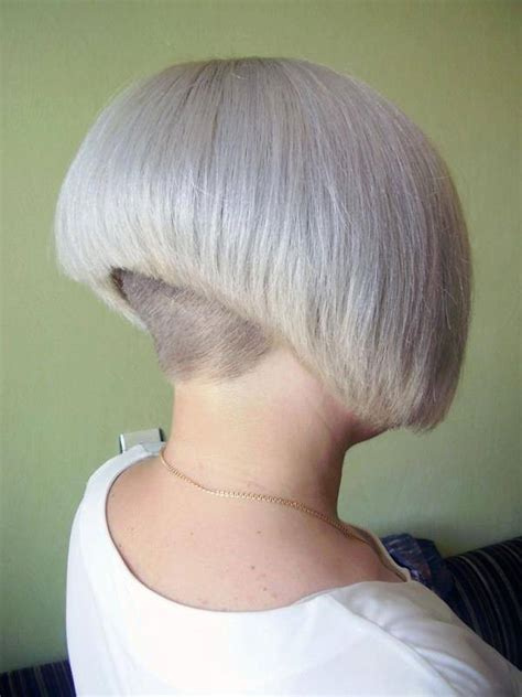 extra sure bob haircut buzzed nape 2015 50 shaved hairstyles that will make you look like a badass
