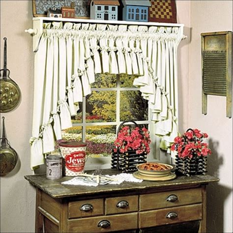 carolina curtains carolina ruffled swag country style curtains