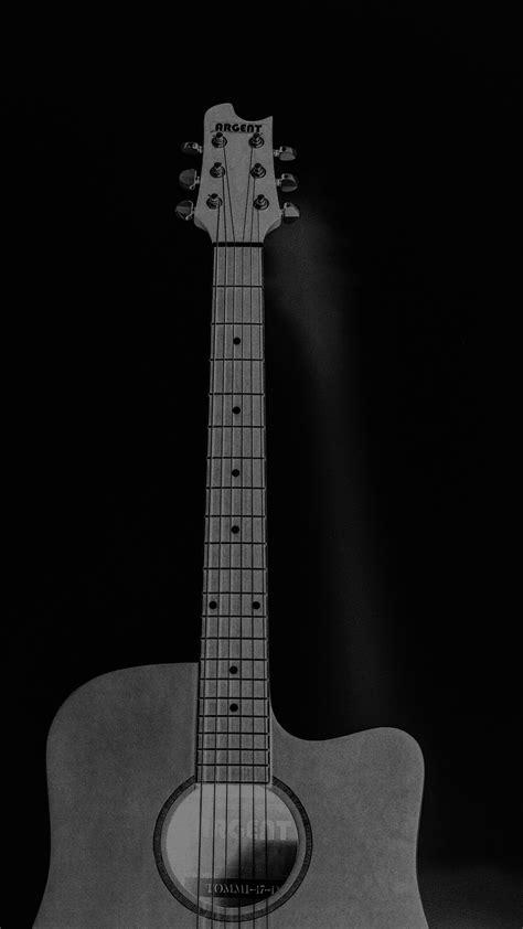 mw80-guitar-art-bw-dark-music-song-black-wallpaper