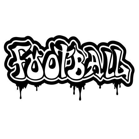 stickers graffiti football stickers malin