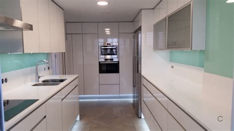 imagenes cocinas integrales blancas las 10 mejores cocinas blancas modernas en madrid