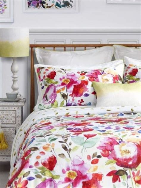 red and yellow comforter sets 31 beautiful and romantic floral bedding sets digsdigs