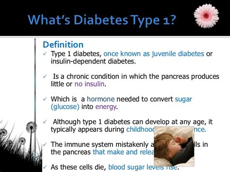 i 3 1 the definition diabetes presentation