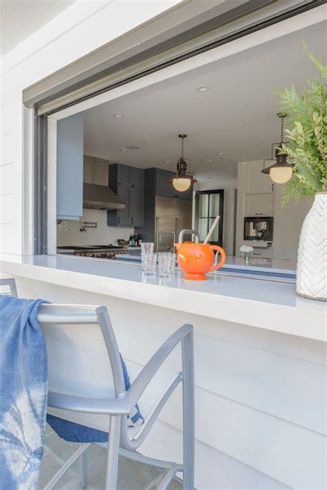pass through window deck kitchen pass through design ideas