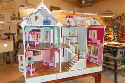 barbie big doll house free doll house plans childs toy design