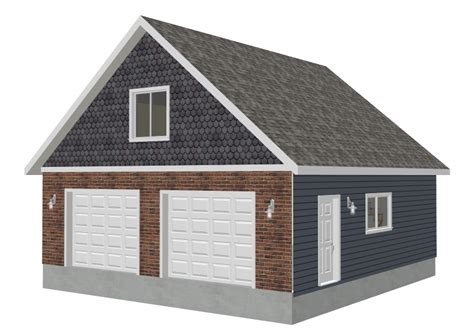 16 X 30 Garage Plans by G550 28 X 30 X 9 Garage Plans Sds Plans