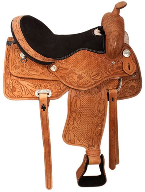 horse saddle leather saddle pinx pets