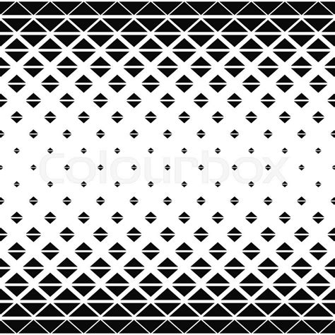 triangle hatch pattern repeat black white vector triangle pattern background