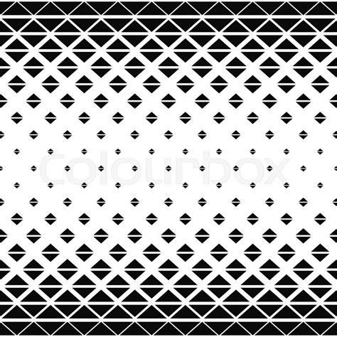 Black Triangle Pattern Vector | repeat black white vector triangle pattern background