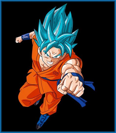 imagenes goku en super sayayin fotos de dragon ball z goku super sayayin archivos