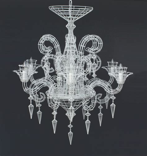 neo baroque chandelier biju grand wire chandelier white chandeliers by biju co uk