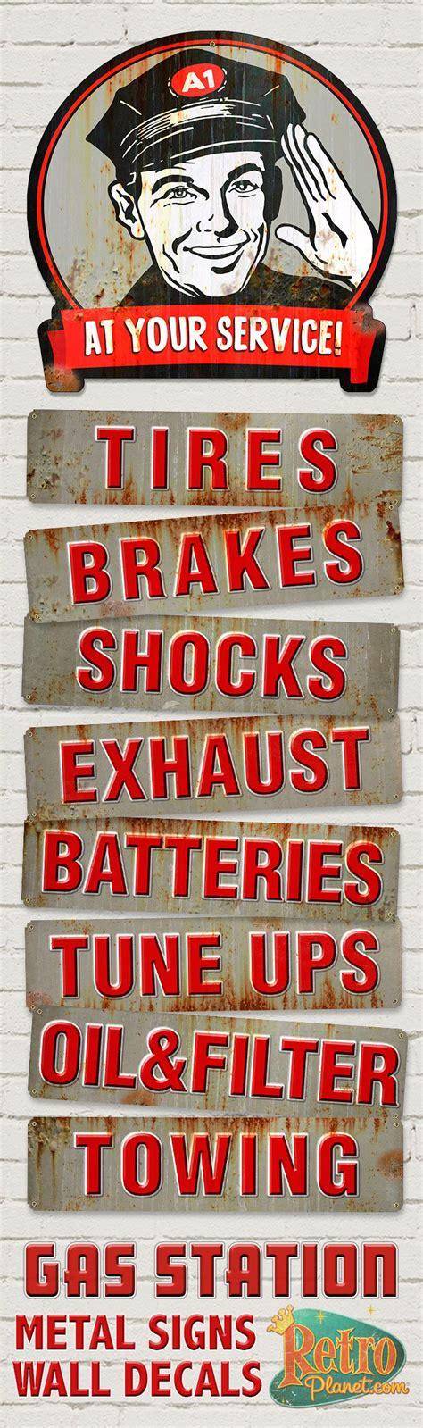 garage metal signs best 25 garage signs ideas on cave ideas