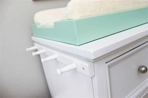 Crib Organizer Polar design reveal cool and calm nursery project nursery