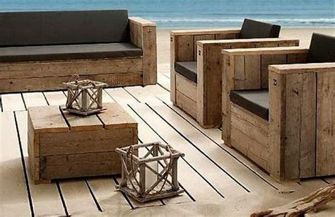 how to make patio furniture out of wood pallets patio furniture made from recycled wooden pallets recycled things