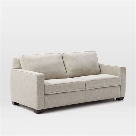 Henry 174 Pull Down Sleeper Sofa Gravel Twill West Elm